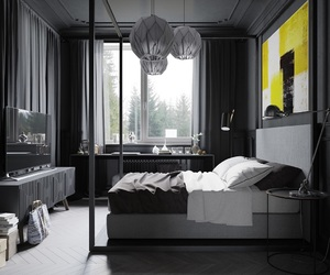 bedroom, black, and store image