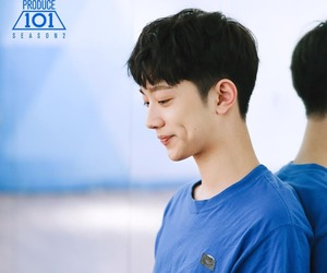 produce 101, wanna one, and lai guanlin image