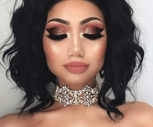 amazing, eyeliner, and lashes image