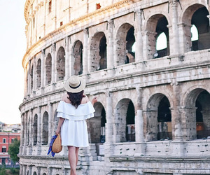 colosseum, italy, and roma image