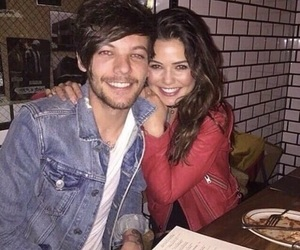 louis tomlinson and danielle campbell image
