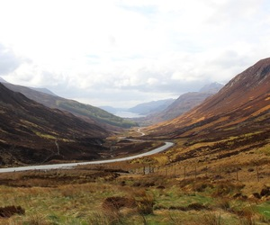 countryside, highlands, and loch image