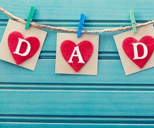 dad, father, and heart image
