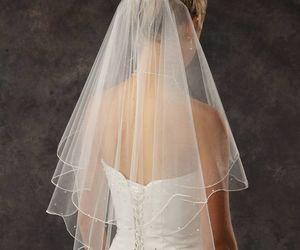 wedding, bridal veil, and casamento image