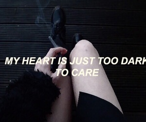 quote, dark, and grunge image