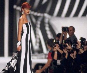 fashion, high fashion, and linda evangelista image