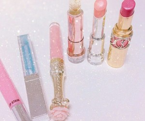 kawaii, lipstick, and fashion image