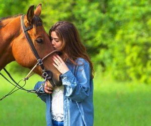 horse and danielle campbell image