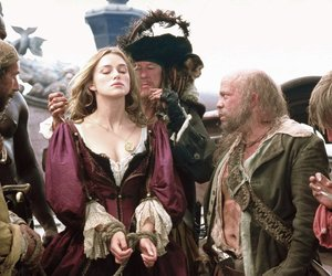 pirates of the caribbean and elizabeth swann image
