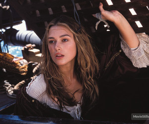 pirates of the caribbean, keira knightley, and movie image