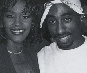 tupac and whitney houston image