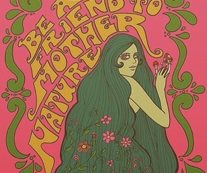 60s, colorful, and hippie image