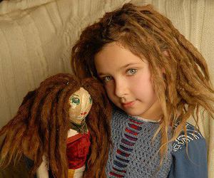 doll, dreadlocks, and dreads image