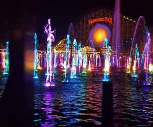 aesthetic, california adventure, and colors image