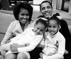 obama and family image