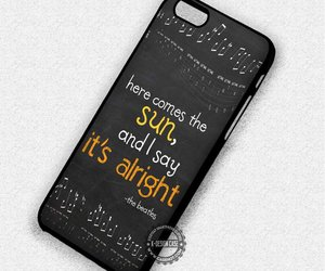music, the beatles, and phone cases image