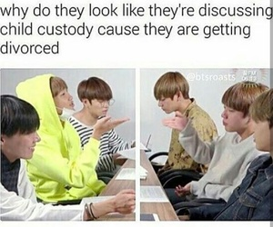jin, meme, and rm image