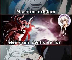 anime, monster, and think image