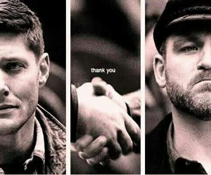 supernatural, dean winchester, and benny image