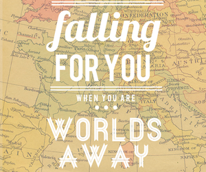 distance, falling, and Lyrics image