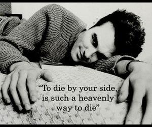 die, love, and heaven image