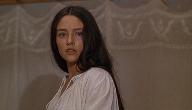 romeo and juliet, beauty, and Olivia Hussey image