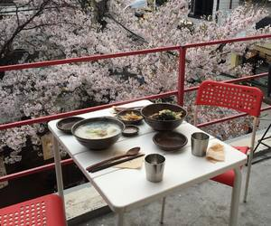 food, japan, and red image