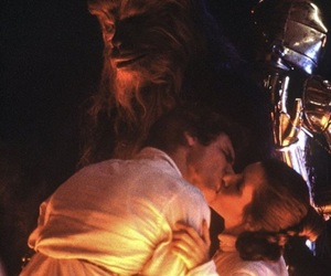 carrie fisher, star wars, and love image