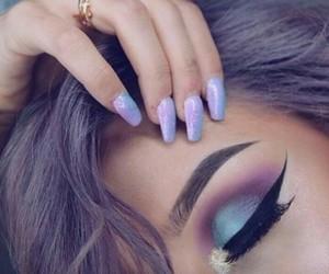 makeup, nails, and beauty image
