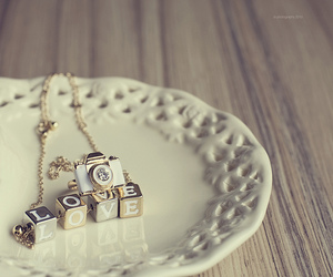 love, camera, and necklace image