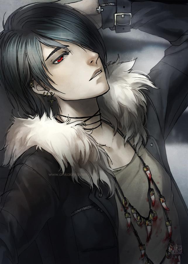 The Best Cool Dark Skin Anime Boy Gif
