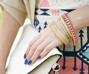 bracelets, braided, and clothes image