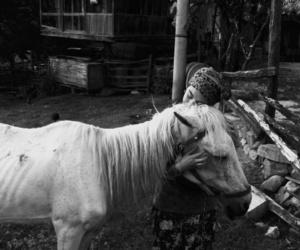 blackandwhite, photo, and vintange image
