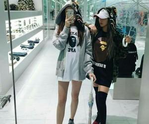 fashion, girl, and bff image