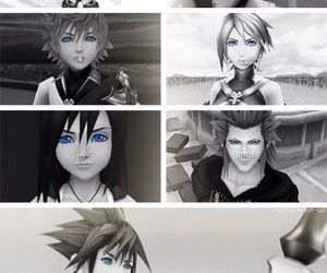 anime, axel, and cry image