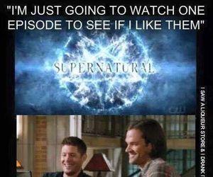 supernatural, fandom, and funny image
