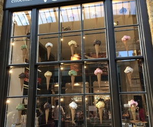 ice cream, shop, and locations image
