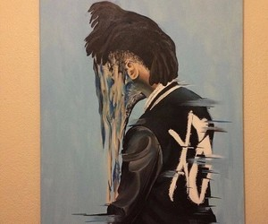 the weeknd, art, and xo image