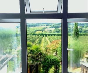home, windows, and england image