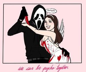 scream and couple image