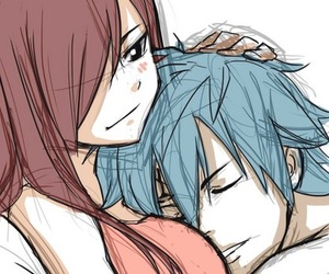 fairy tail, erza scarlet, and jerza image