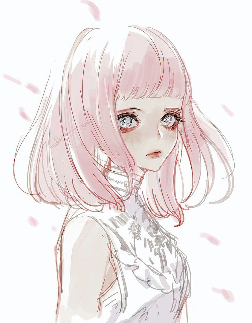 The Best Pink Aesthetic Sad Anime Girl - india's wallpaper