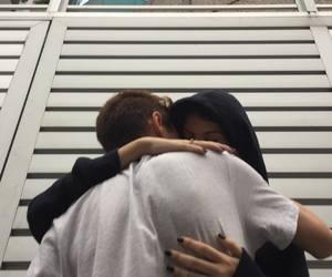 couple, hug, and aesthetic image