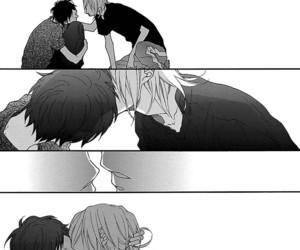 bl, manga, and black and white image