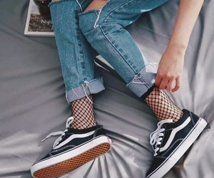clothes, grunge, and vans image
