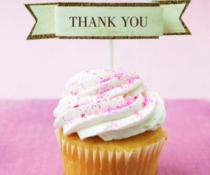 cupcake, thankyou, and thnx image