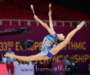 clubs and rhytmic gymnastic image