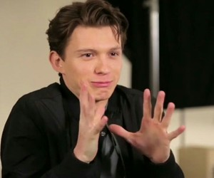 celebrities, tom holland, and spiderman homecoming image