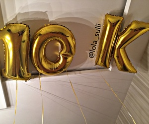 balloons, sulli, and 10k image