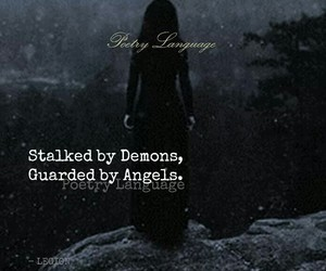 quotes and demons and angels image
